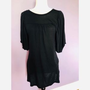 Michael kors black dress with puff sleeves